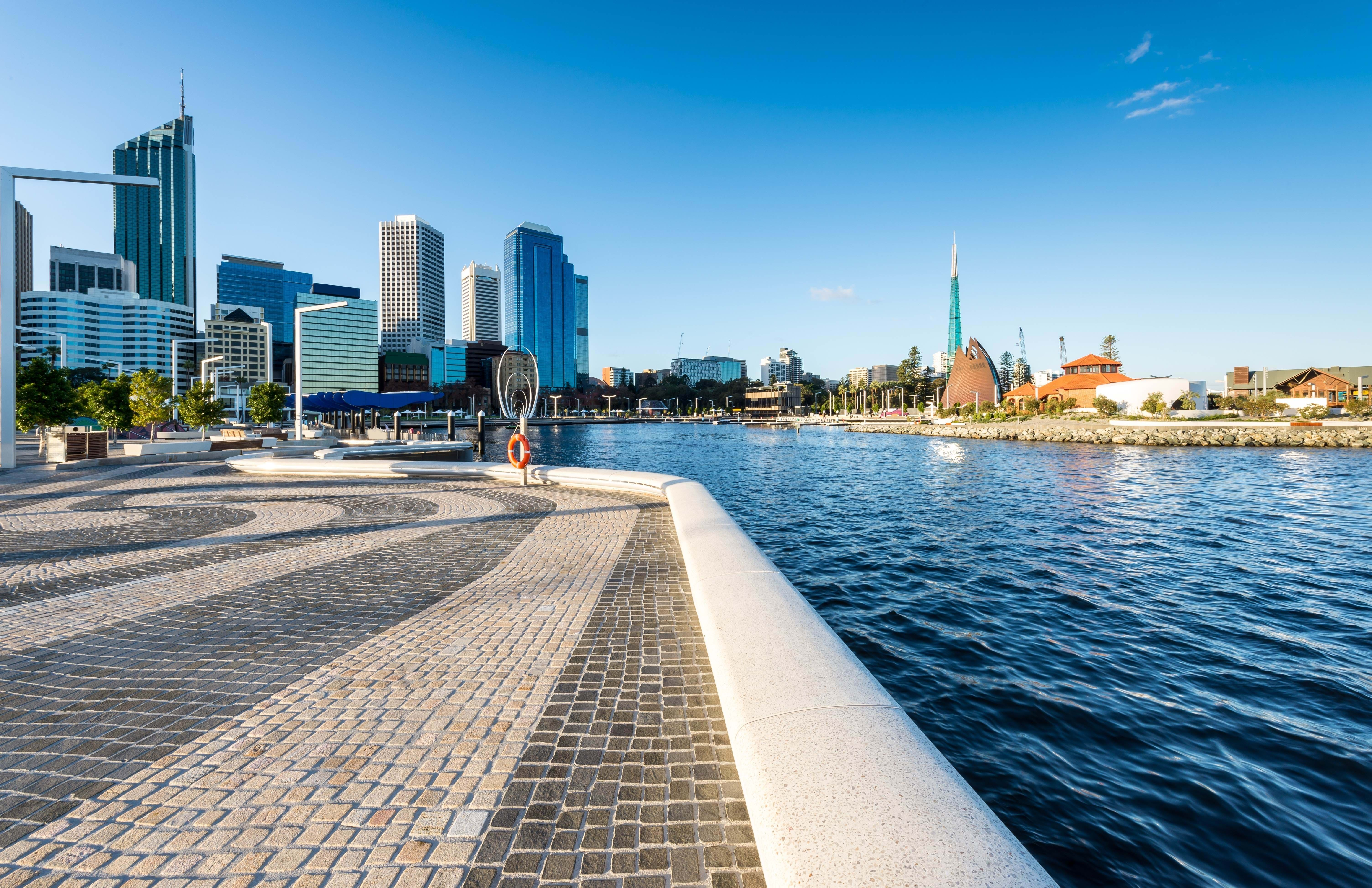 elisabeth quay in perth in australia hang out here when you become a student in perth