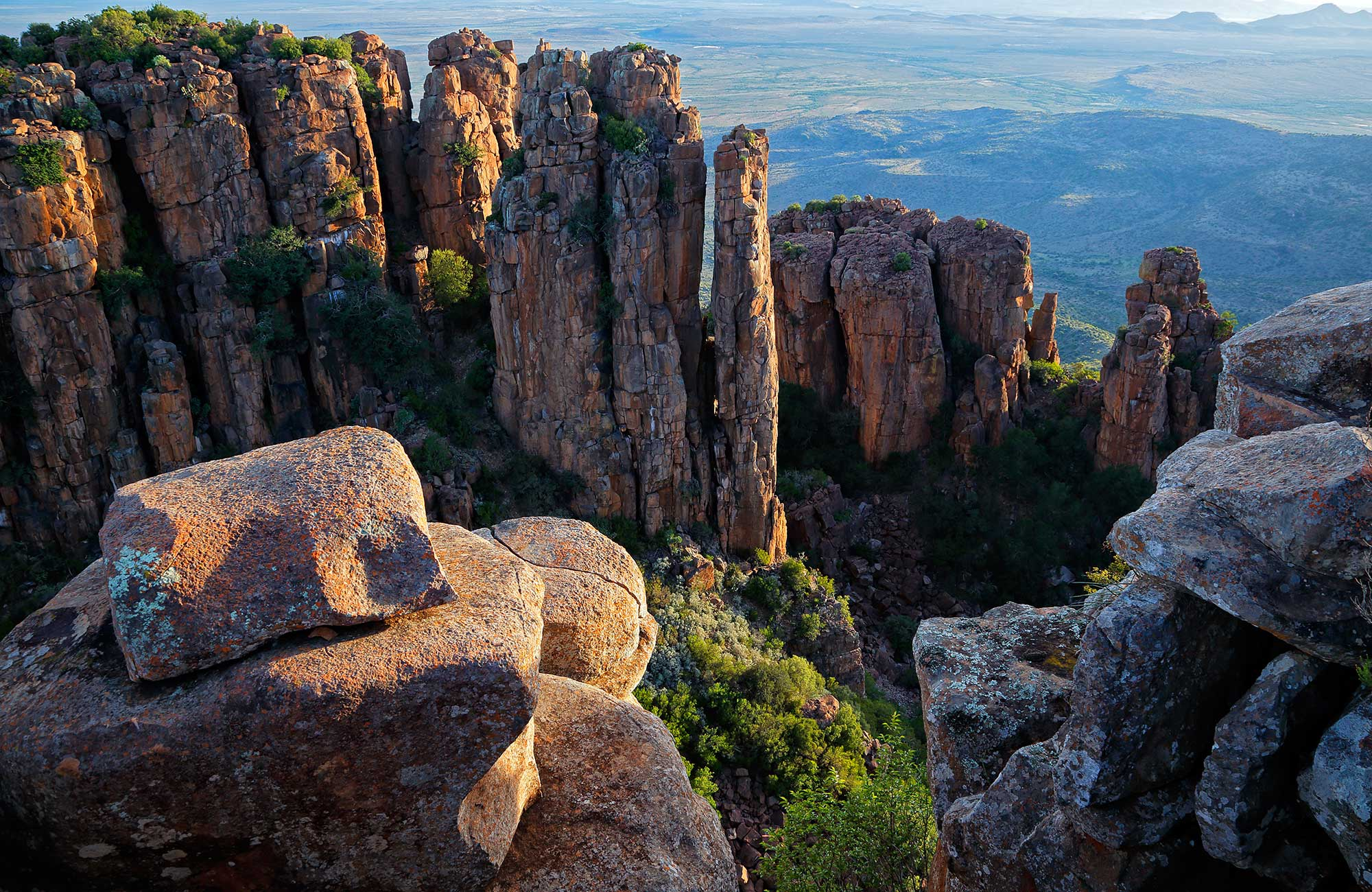 check out valley of desolation in south africa