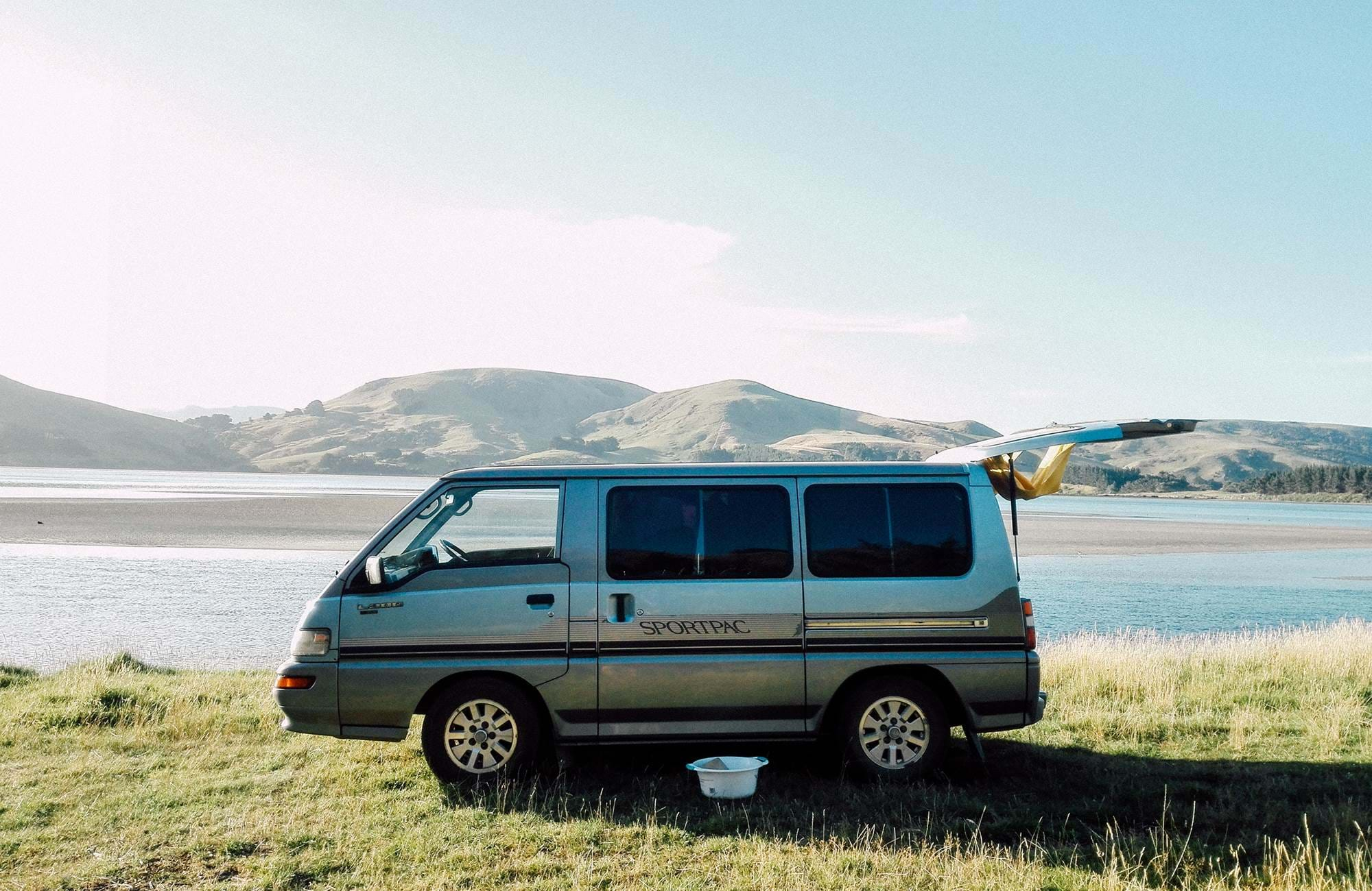 Campervan in New Zealand