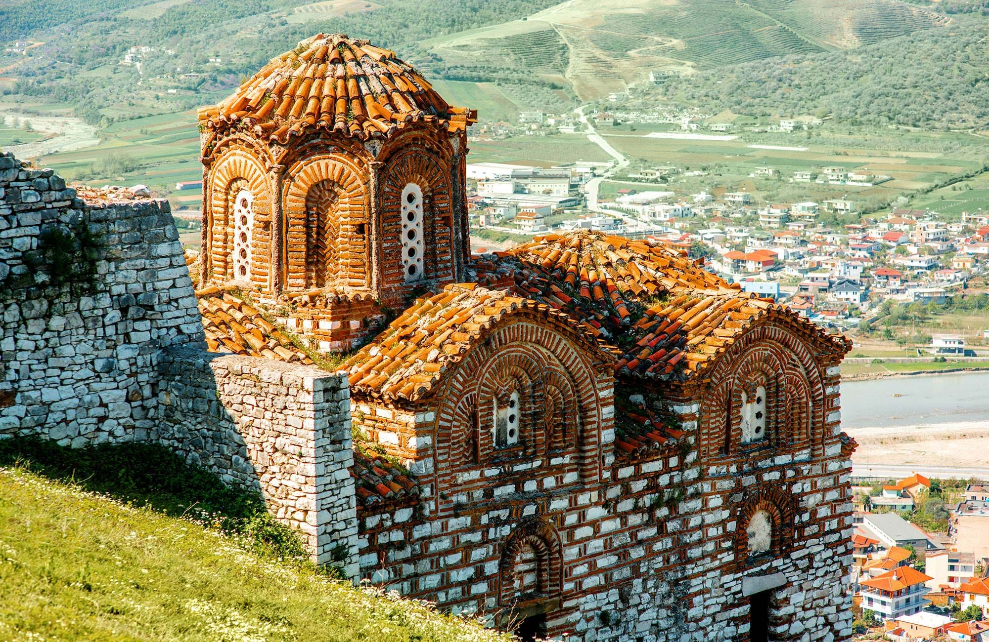 You'll visit plenty of old charming villages in Balkan