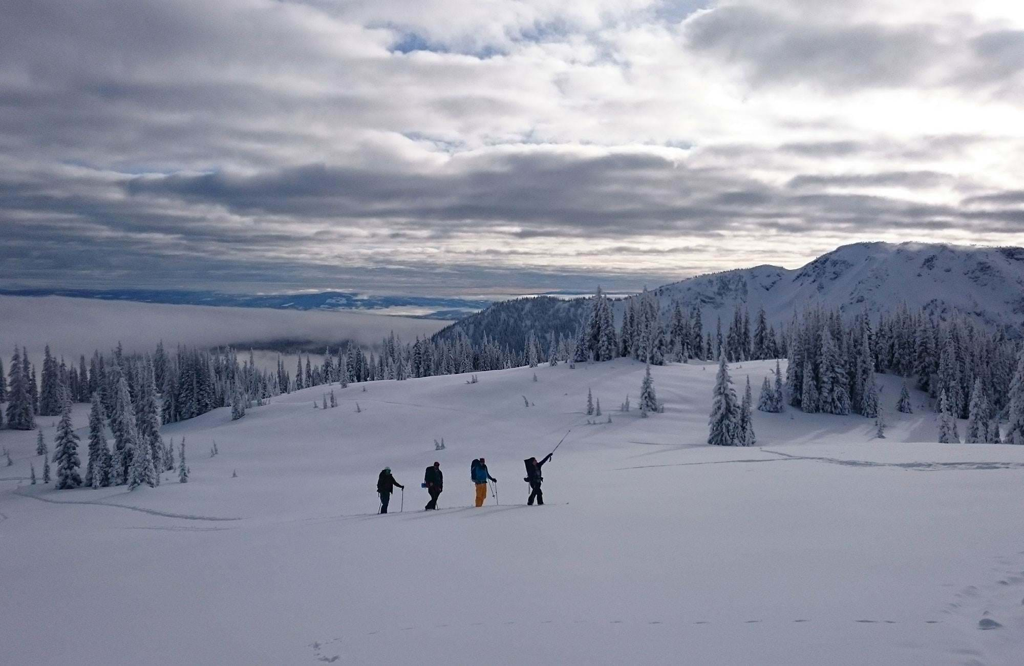 skiing in the spare time during your gap year in Canada