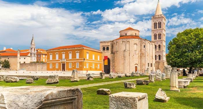 explore some of the many medieval sights in zadar