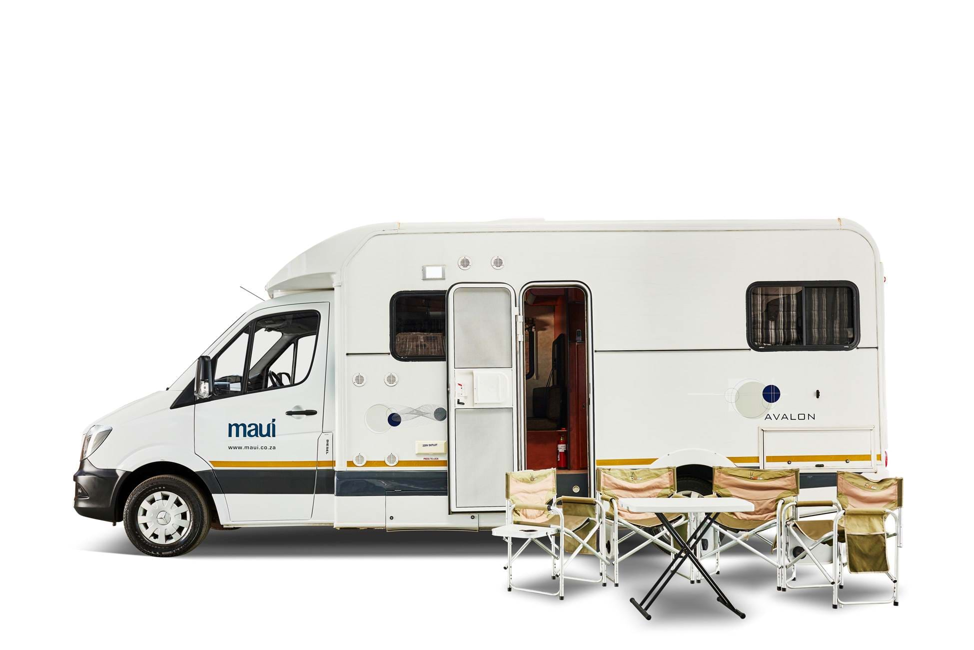 M4BL Motorhome - Ready to camp